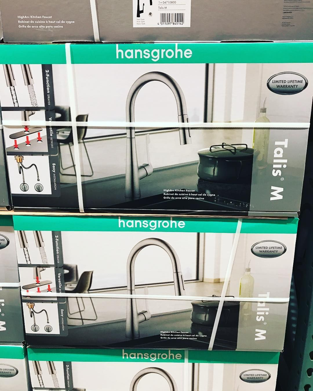 Upgrade To A New More #modern Hansgroheusa #kitchen #faucet Is On Extraordinary Costco Kitchen Faucet Design Ideas