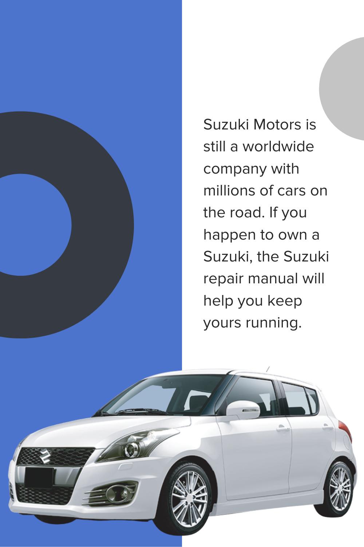 Suzuki Service Emanual Repair Manual Auto Repair