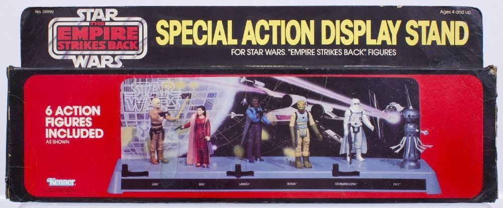 Star Wars Vintage ESB Special Action Display Stand MIB Vintage Mesmerizing Star Wars Action Figure Display Stand