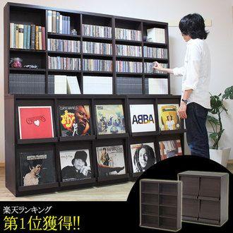 Display Rack Bookshelf Bookcase CD Storage Record Case Decoration Shelf Vinyl Records Furniture LP