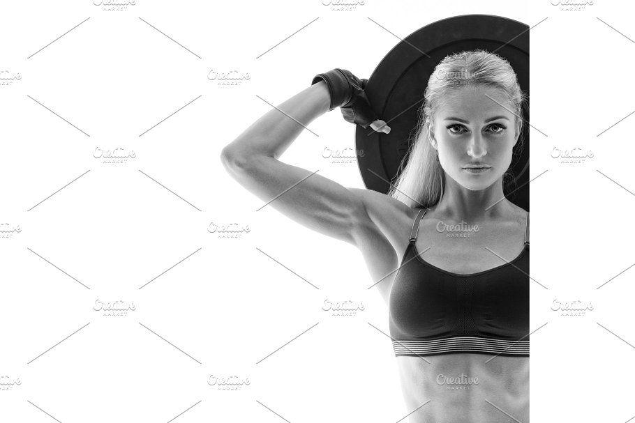 Powerful Woman Plate POWER OF WOMEN Plate Women Power Plate