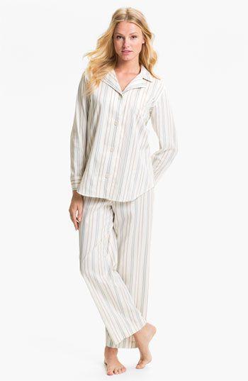 Lauren Ralph Lauren Sleepwear Stripe Pajamas available at #Nordstrom