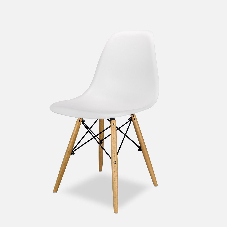 Eames DSW Stuhl Replica – Weiß: Amazon.de: Küche & Haushalt ...