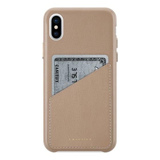 Leather Snap IPhone 7 Case - Premium Leather Case