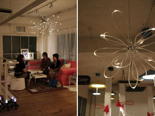 IKEAのLED照明で節電モードの模様替え   Chandeliers, Spaces and Room