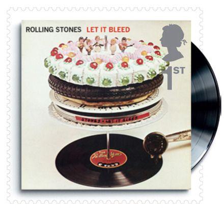 Royal Mail's 2010 Design Classics set features Classic Album Covers from British Popular Music Image