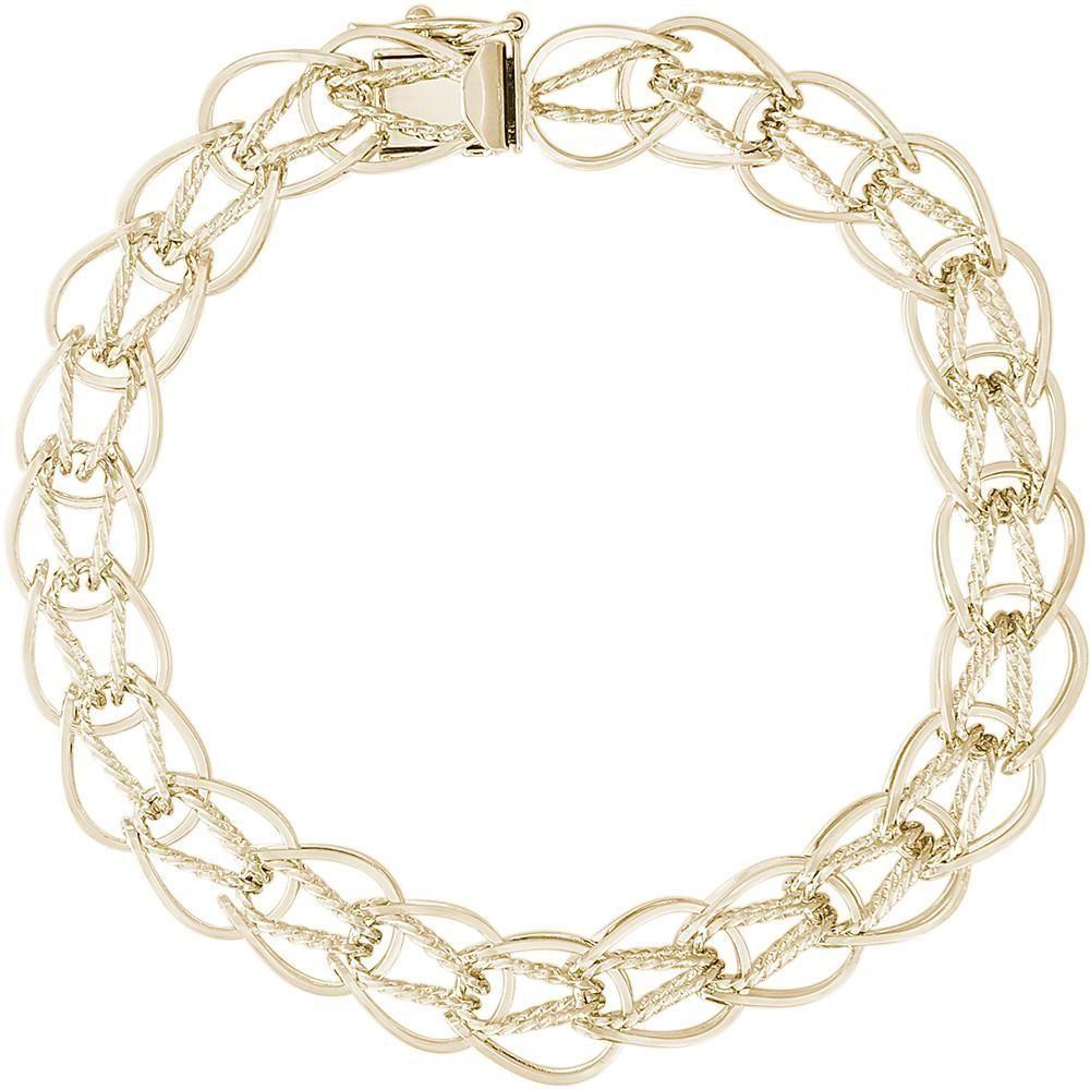 Jewelry Pilot 14K Yellow Gold Madi K CZ Eiffel Tower Charm Pendant