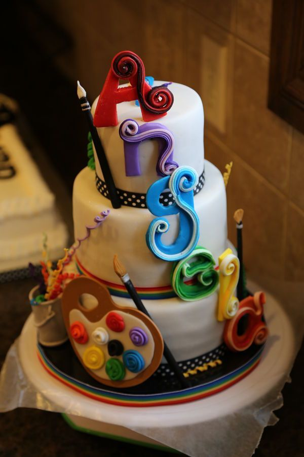 Artist Cakes Cake, Food art and Food ideas