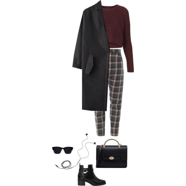Untitled #207 by lindakandix on Polyvore featuring мода, Topshop, Cédric Charlier, Pull&Bear, Mulberry, Diane Von Furstenberg, women's clothing, women's fashion, women and female
