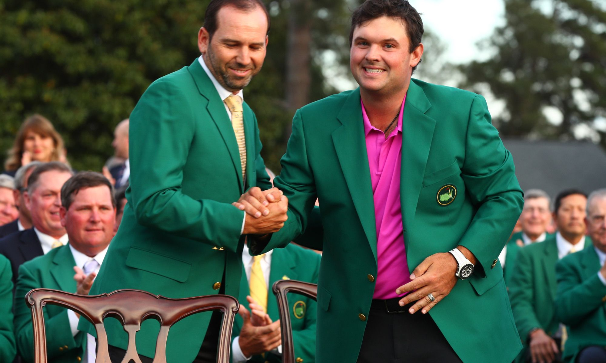 Watch Masters Green Jacket Ceremony For Patrick Reed