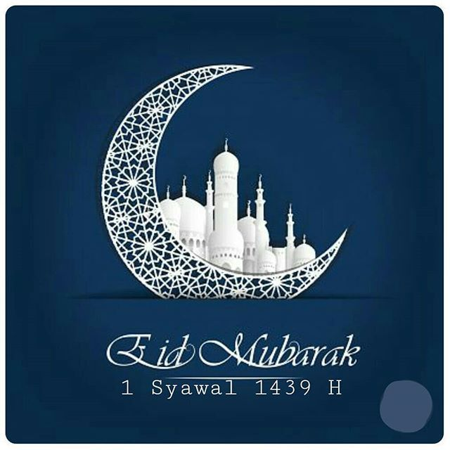 Happy I'ed 1439 H Minalaidzin Walfaidzin Mohon Maaf Lahir