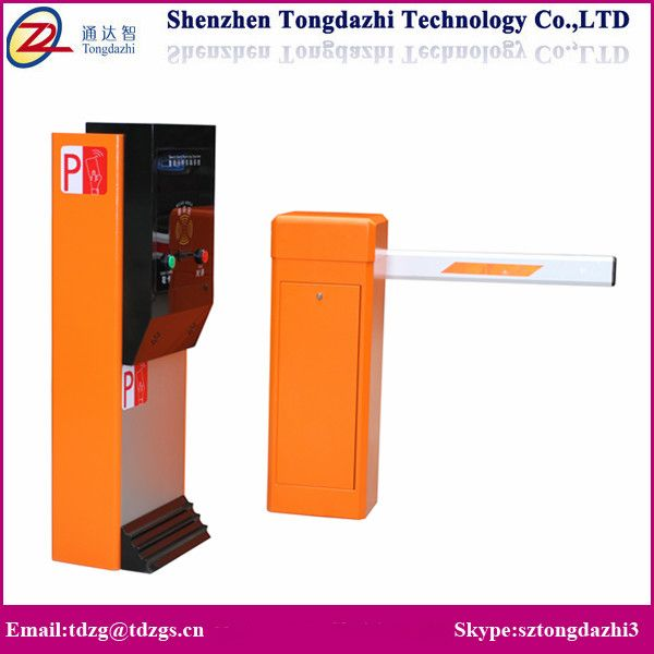 Car parking system access road barrier gate security barrier