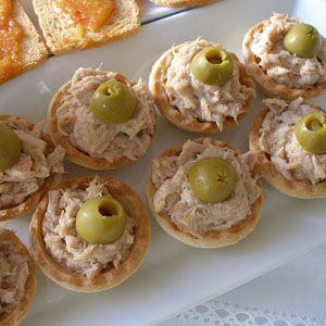 canap s de at n recetas pinterest canapes tea time