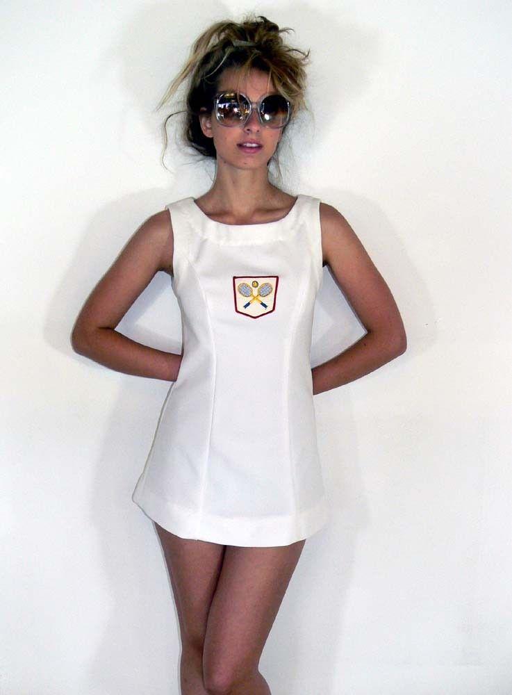 Sale Vintage Tennis Dress Sz S M 18 00 Via Etsy Tennis Dress Tennis Clothes Vintage Tennis