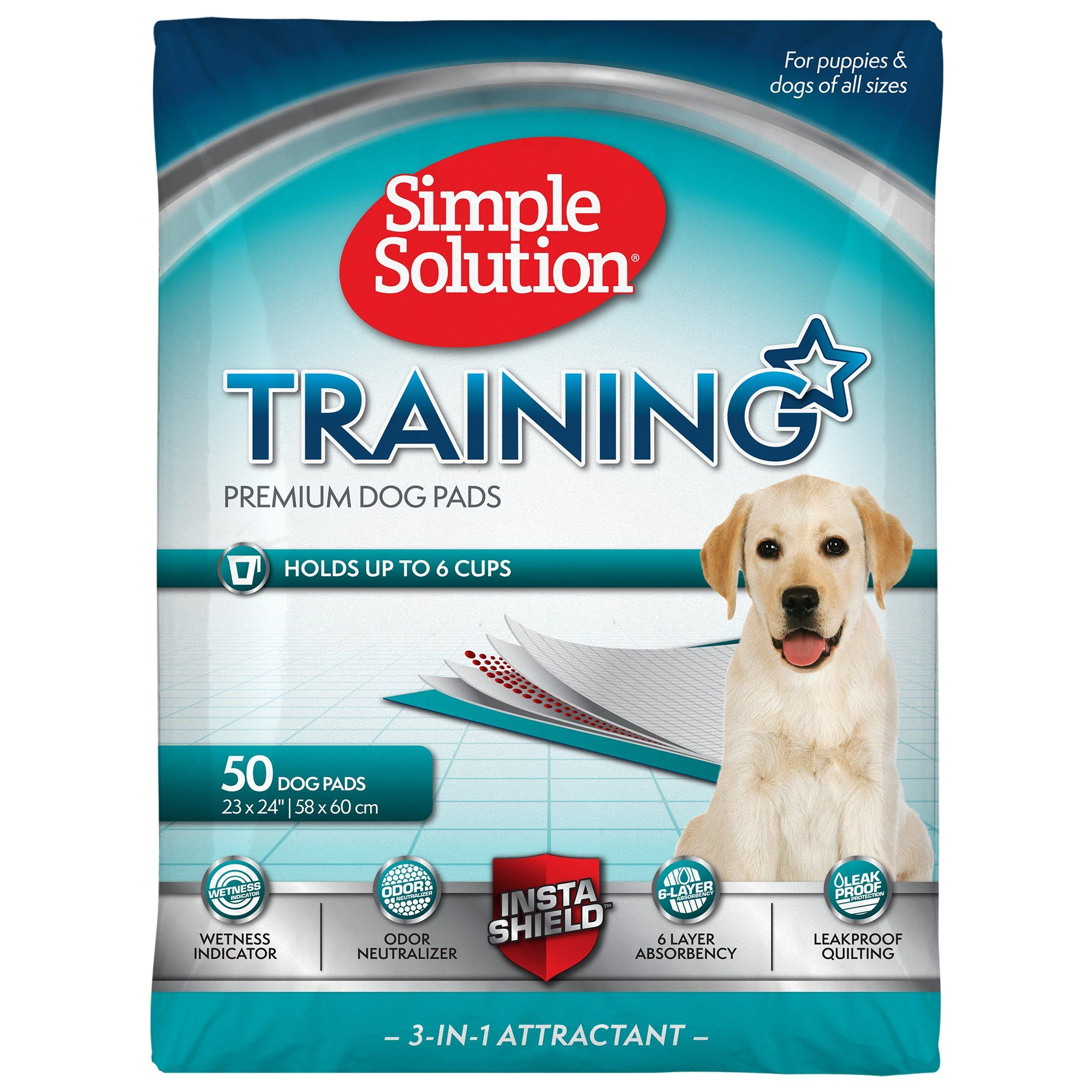 Simple Solution Dog Training Pads Count Of 50 50 Ct Puppy Pads