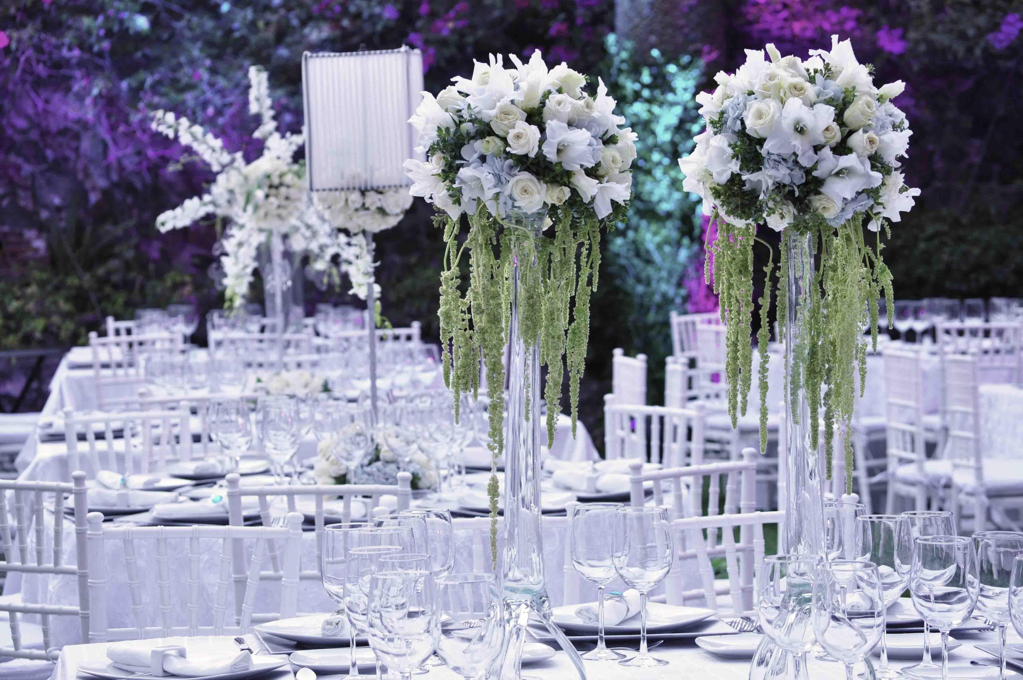 boda, ambiente, noche, blanco, elegante, amor, novios, boda, momentos perfectos