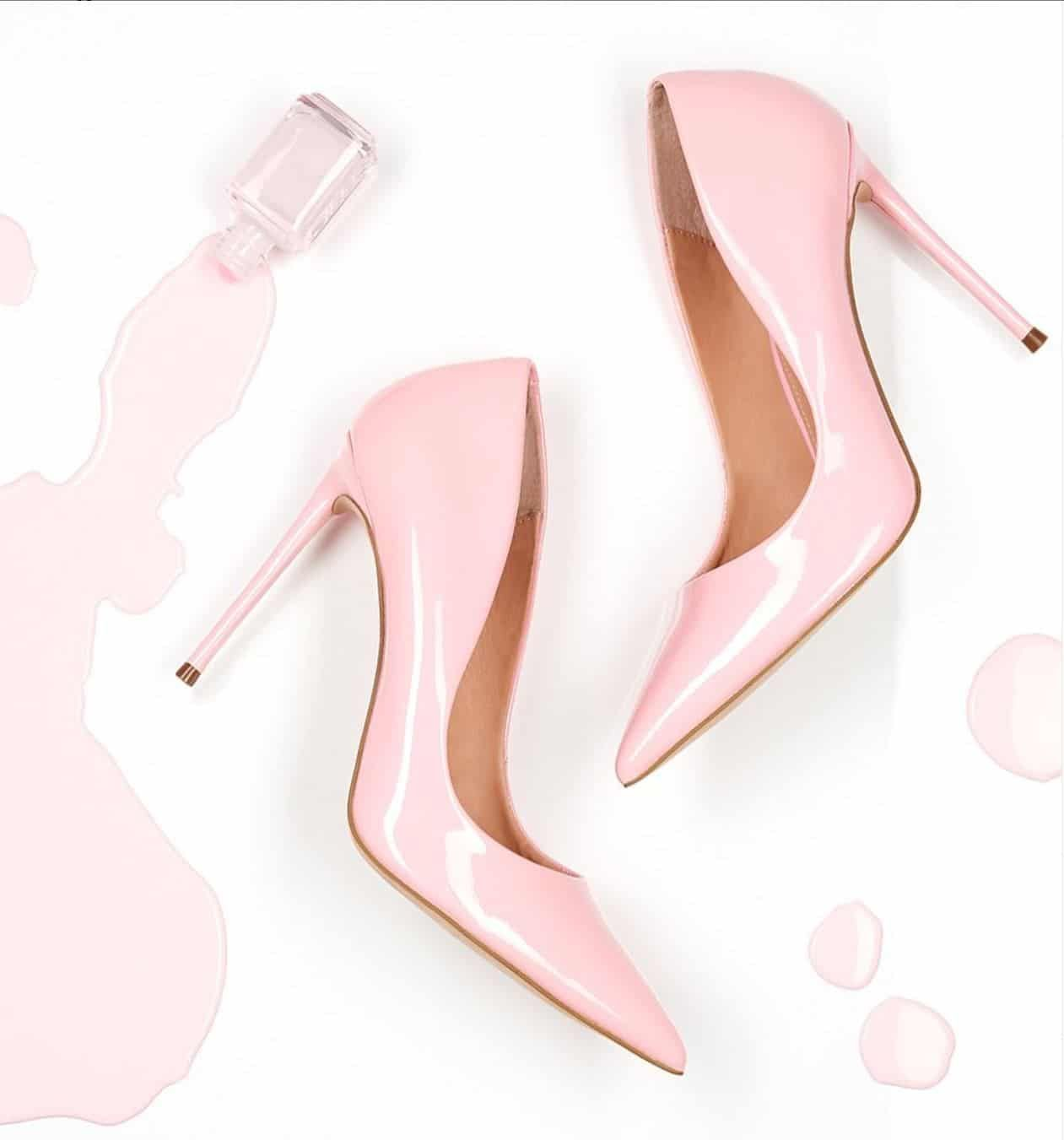 Details about  /Women High Block Heel Mid Calf Boot Pump Pointed Toe Stretch Transparent Shoes D