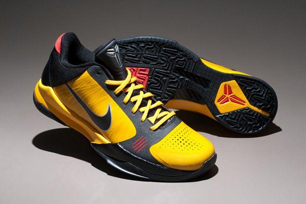 Nike Zoom Kobe 5 Bruce Lee   Kobe bryant sneakers, Kobe