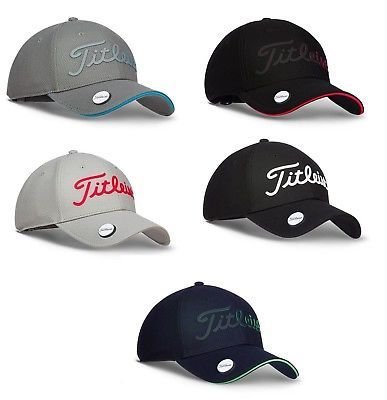 67a45904886 Golf Visors and Hats 158937  2018 Titleist Tour Performance Ball Marker Adjustable  Golf Hat Pick