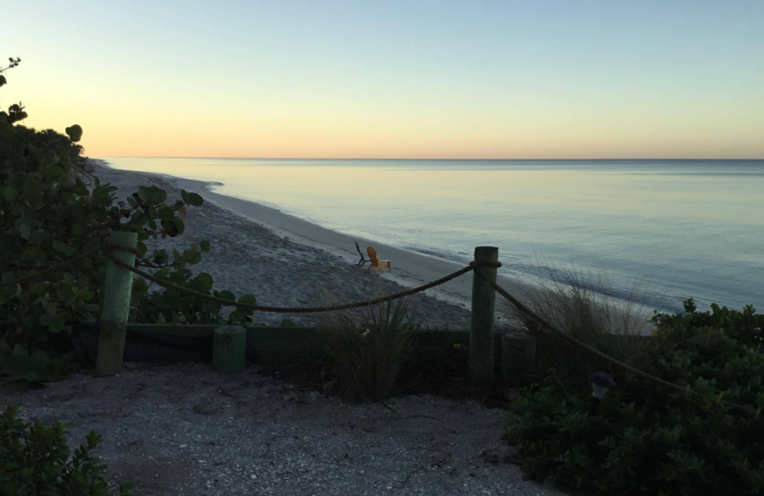 Our secluded beach at sunset!   Florida hotels, Englewood ...