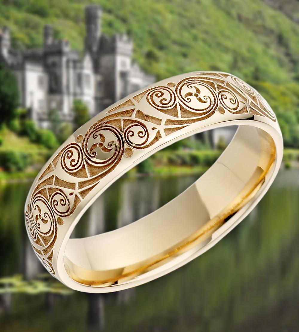 Pin By Lisa Rivera On Rings Irish Jewelry Irish Wedding Rings Celtic Wedding Rings