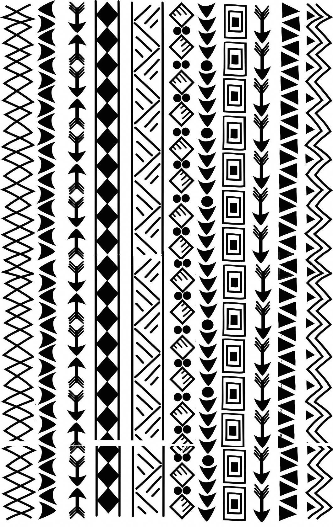 Border Patterns Polynesiantattoos Tatuagens Marquesan Desenho