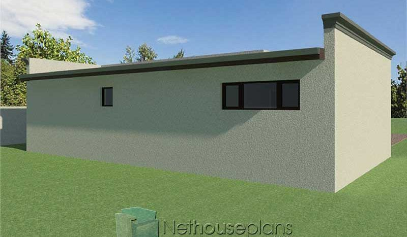 2 Room House Plans South Africa Flat Roof Design Nethouseplansnethouseplans House Plans South Africa Flat Roof House Designs Flat Roof House