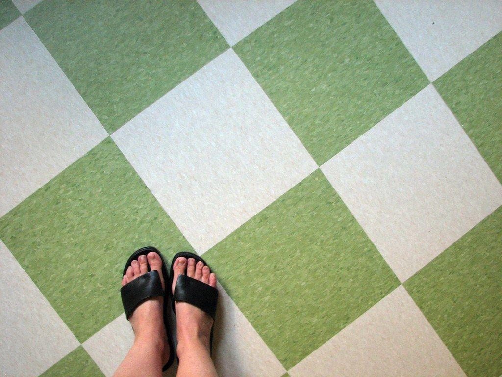 new kitchen floor in 2020 Kitchen flooring, Vct tile