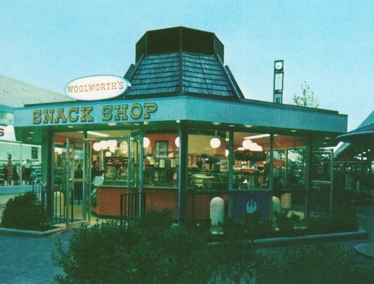 Woolworth S Snack Shop Kiosk King Of Prussia Pa 1964 Vintage Mall Vintage Restaurant King Of Prussia