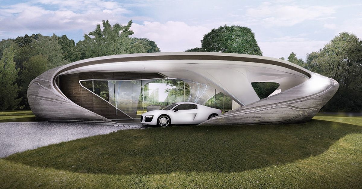 0589bbd5e81 Sophisticated 3D-Printed House Is First of Its Kind