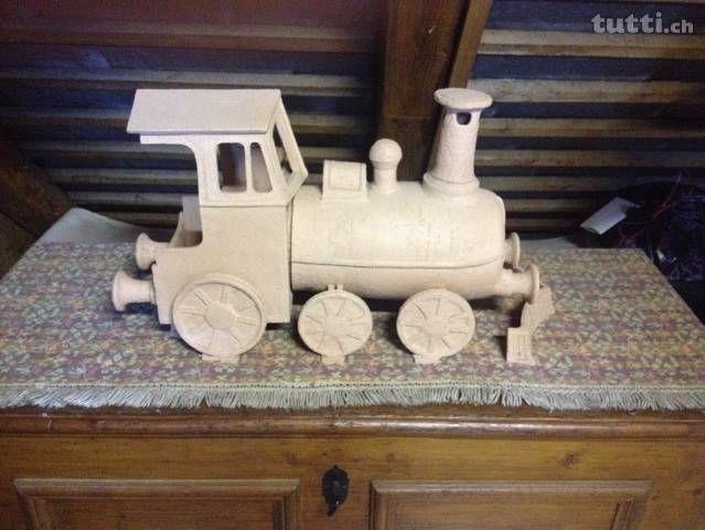 Lokomotive Aus Ton Handgefertigt Bern Tutti Ch Kinderspiel