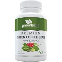 Pure Green Coffee Bean Extract Natural Weight Loss Pills Appetite Suppressant Metabolism Booster Fat Burner and Blood Sugar Support Supplement for Women and Men. Made in Utah USA. #utahusa