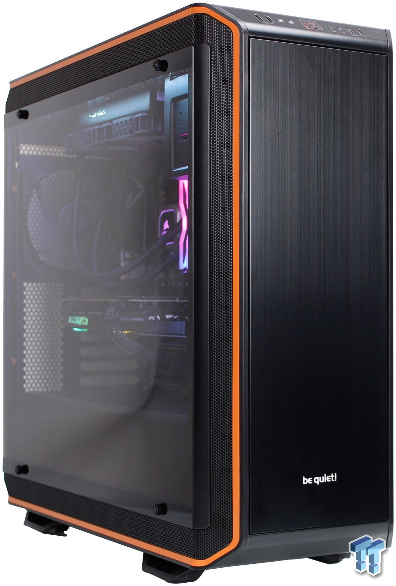 Be Quiet Dark Base Pro 900 Rev 2 Full Tower Chassis Review Quiet Tower Mini Itx