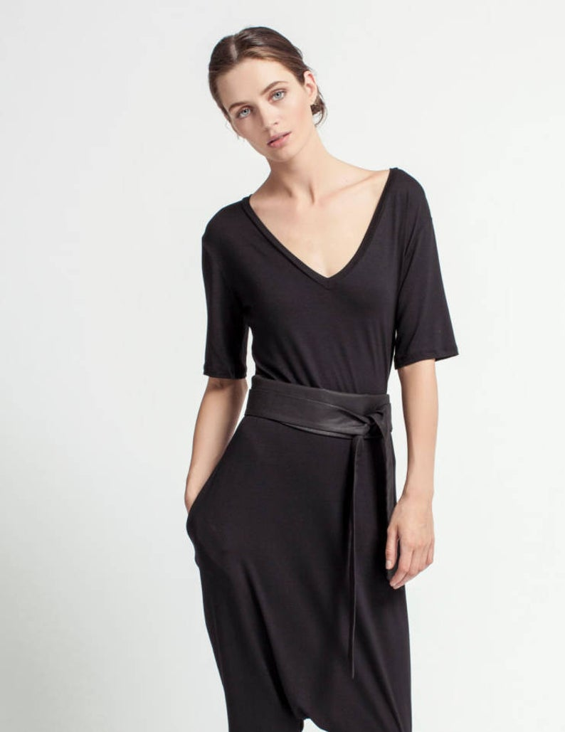 Hip Belt Hips Belt Dress Belt Black Obi Belt Wrap Obi Etsy Black Dress Belts Belted Dress Wide Belts For Women [ 1029 x 794 Pixel ]