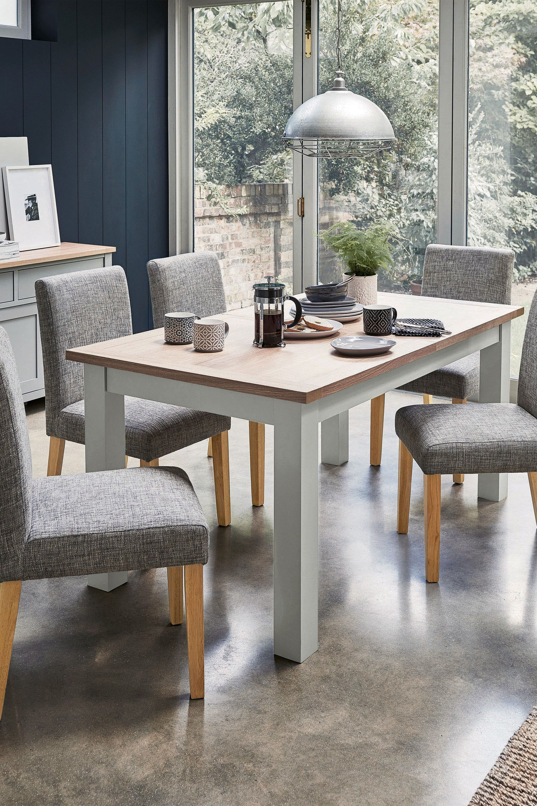 d89991cd2e Buy Malvern 6-10 Seater Double Extending Dining Table from the Next UK  online shop