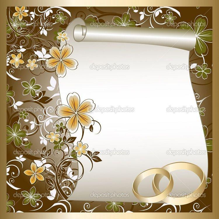 blank wedding invitations designs