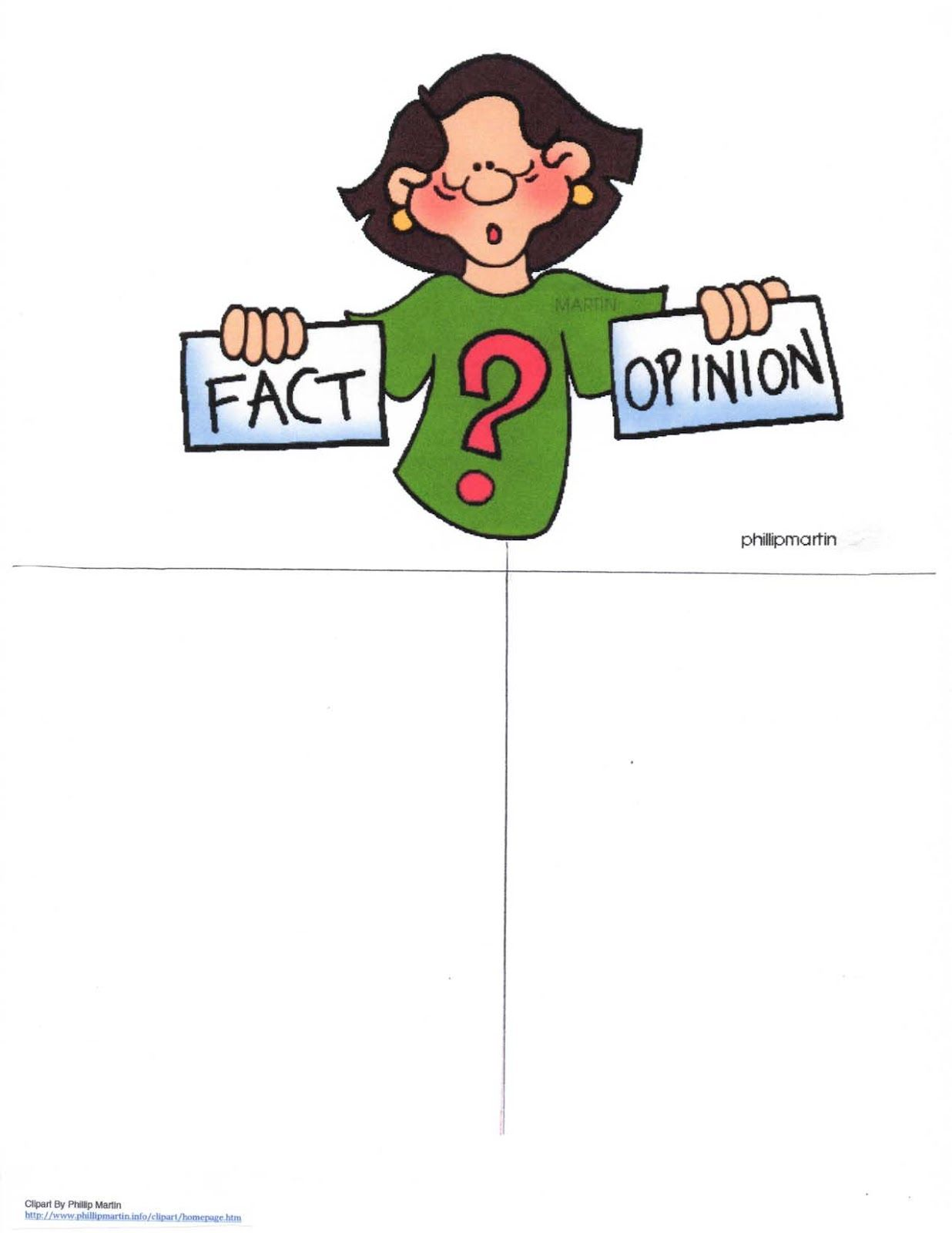Fact Or Opinion Anchor Chart
