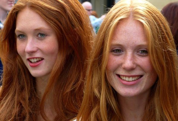 Blondes And Redheads Are Not Going Extinct Genes Do Not Go