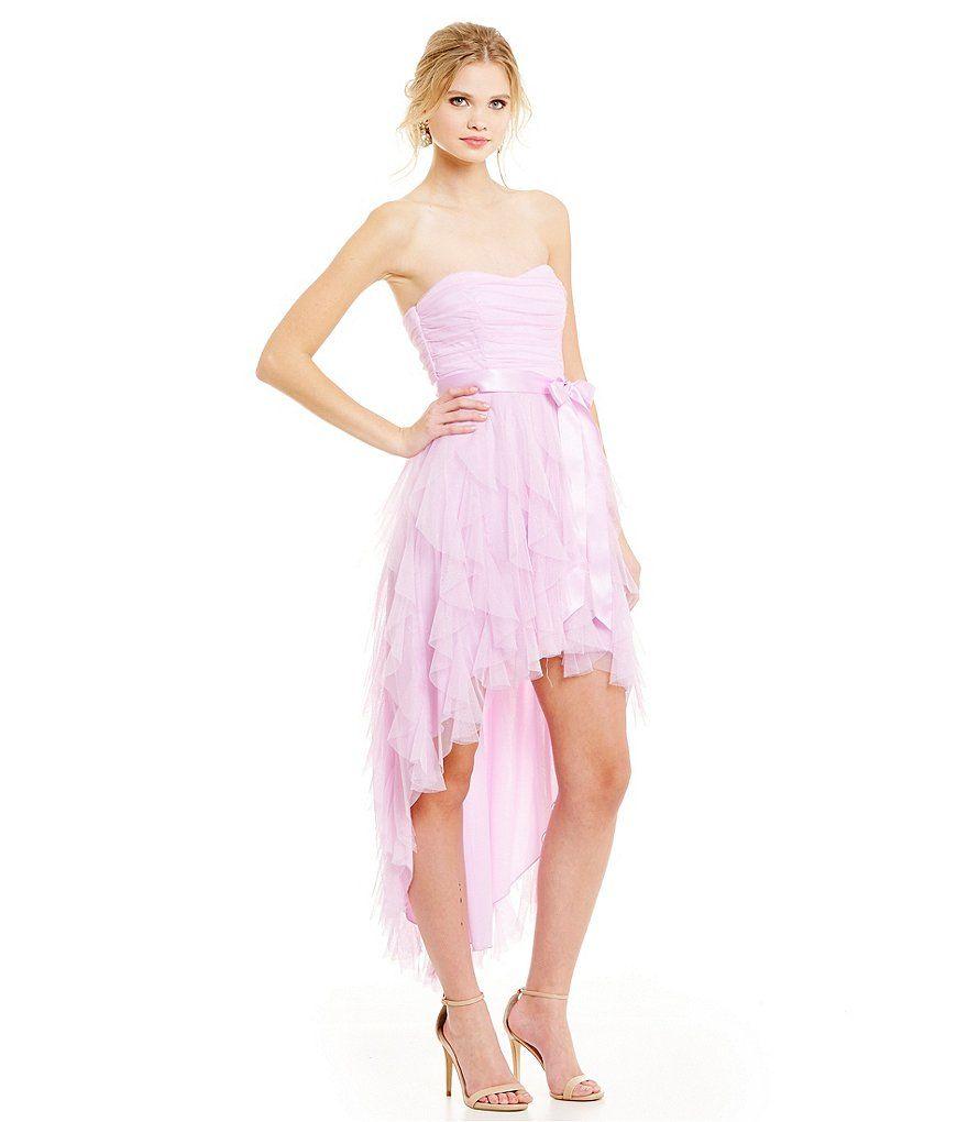 Teeze Me Glitter Corkscrew High-Low Dress   Molly   Pinterest   High low