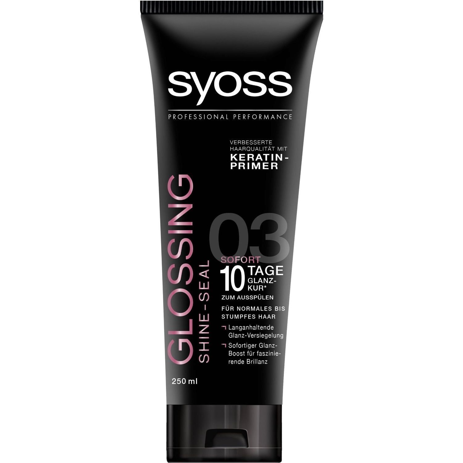Syoss Glossing Instant 10-Day Shine-Sealing Treatment Mask 8.45 fl oz ** Read more reviews of the product by visiting the link on the image.