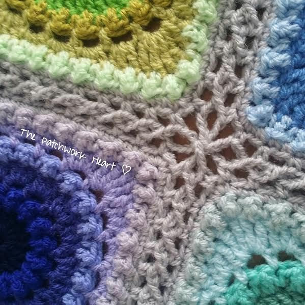 The Patchwork Heart: Continuous Flat Braid Join ~ a tutorial in UK ...