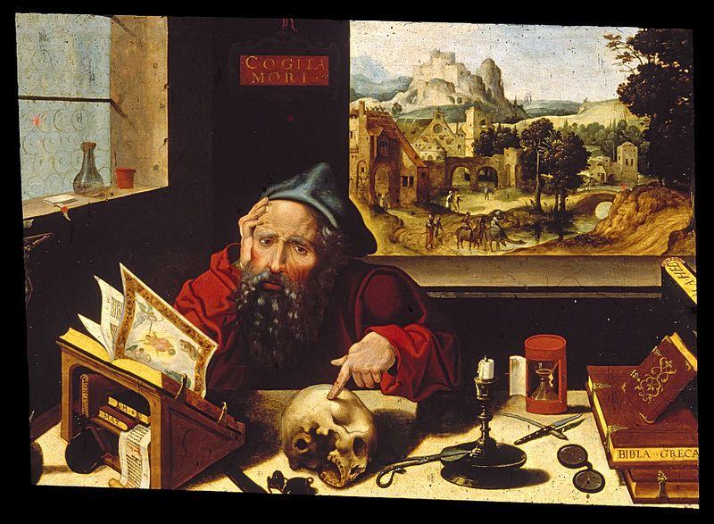 Pieter Coecke van Aelst and workshop (1502–1550)  Saint Jerome in His Study c1530