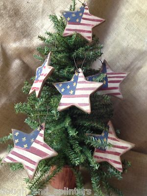 Set of 6 Primitive Stars & Stripes Americana 4th of July Star Hanging Wood  Ornaments OOAK. Free ship. - Powerstep® ProTech Full Length, Men's 5-5 1/2, Women's 7-7 1/2