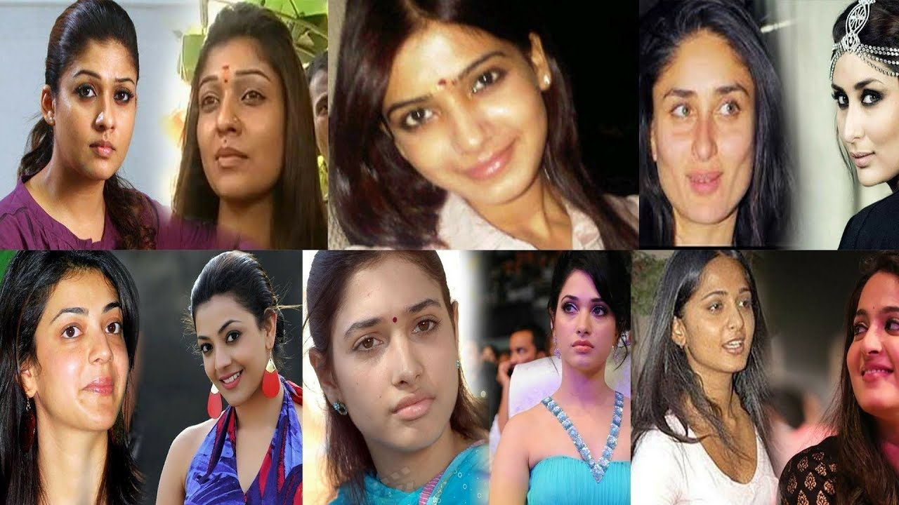 10 south indian beautiful actress without makeup | latest pictures