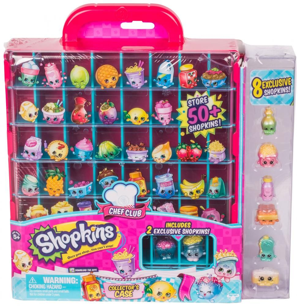 Shopkins Chef Club Collector S Case Moose Toys Chef