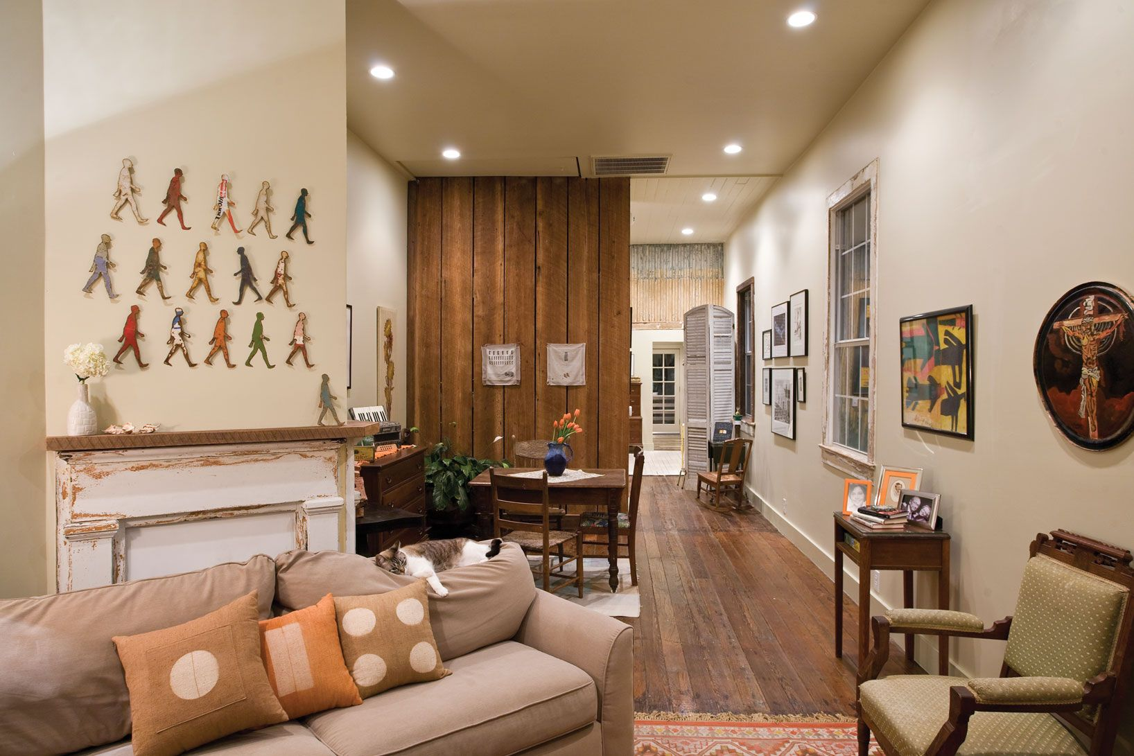 Shotgun Homes Interiors The House That Art Built New Orleans Lifestyles