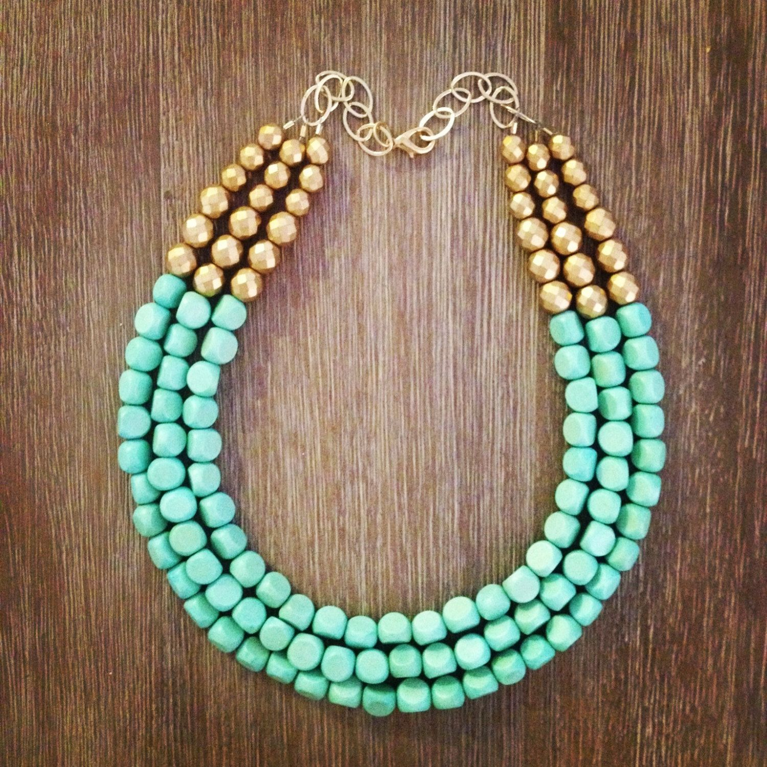 Best 25+ Beaded Statement Necklace Ideas On Pinterest