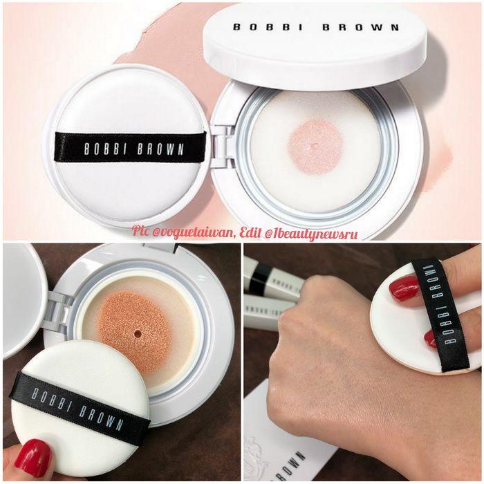 Bobbi Brown Skin Radiant Glow Cushion Compact Spf 50 Swatches