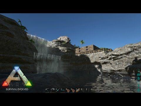 Ark Survival Evolved Part 13 - THE WATERFALL BASE! - YouTube - new blueprint ark survival