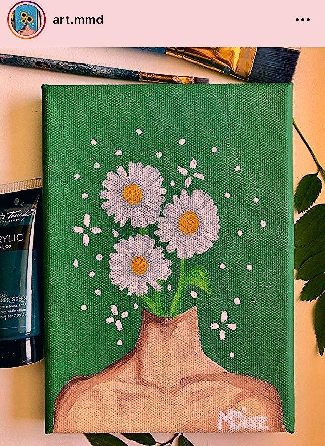 Cute Aesthetic Easy Paintings